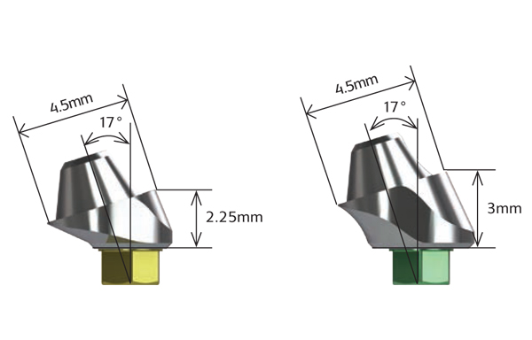 17° Angled Multi-unit Abutments