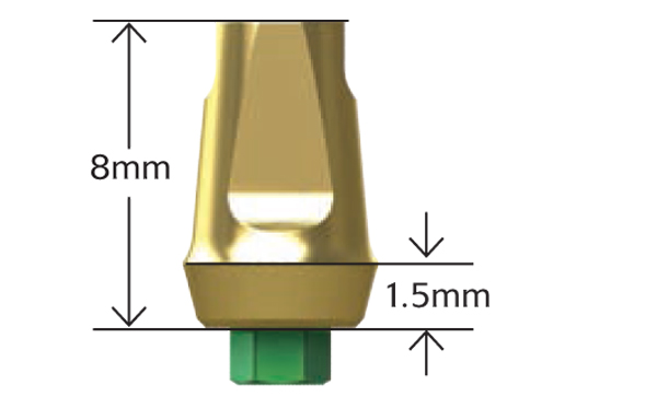 3 in One Abutments (Regular Emergence)